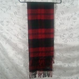 Christian Dior Cashmaire  scarf plaid tartan